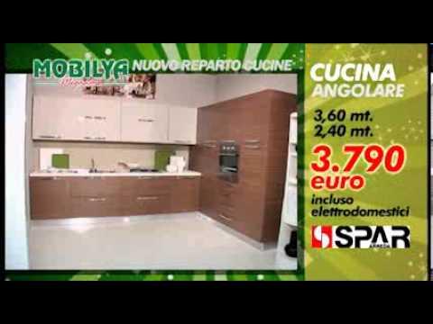 Le nuove cucine di mobilya megastore 3 youtube for Mobilya megastore offerte