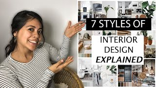 7 Styles Of Interior Design Explained