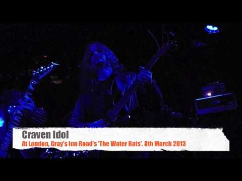 Craven Idol Live at London, Gray's Inn Road's The Water Rats 2013