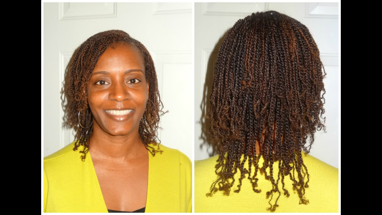 natural hair two strand twist