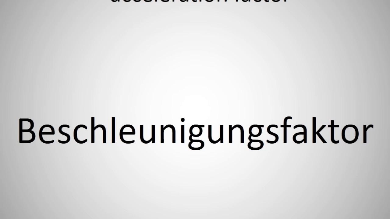 Factor Deutsch