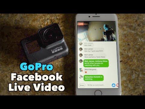 GoPro How To: Facebook Live Streaming - GoPro Tip #649 | MicBergsma