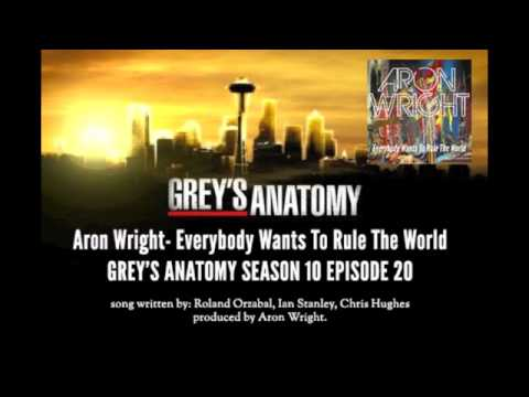 Greys Anatomy Music Season 10x20 Aron Wright Everybody Wants To