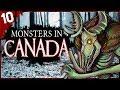10 Strange Creatures Seen in Canada | Darkness Prevails