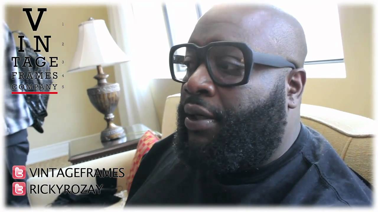 rick ross reveals samples of his sunglasses line with