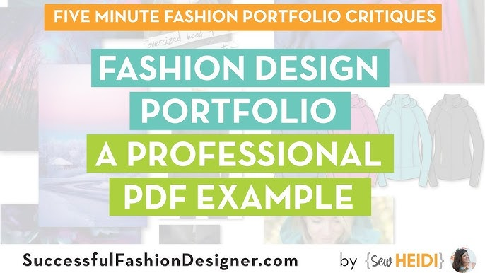 Fashion Design Portfolio A Professional Pdf Example Youtube