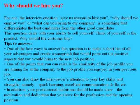 9 junior financial analyst interview questions and answers - YouTube