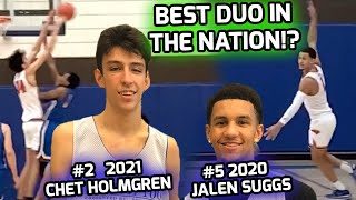 """Chet Holmgren Is BACK! 7'0"""" Guard & McDonald's All American Jalen Suggs Cannot Be Stopped 💰"""