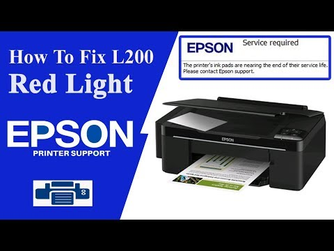 Epson L200 Resetter || Service required ||