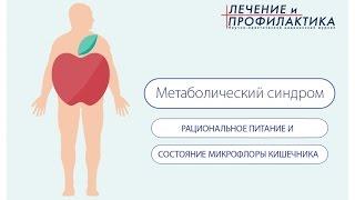 Метаболический синдром. Рациональное питание и состояние микрофлоры кишечника