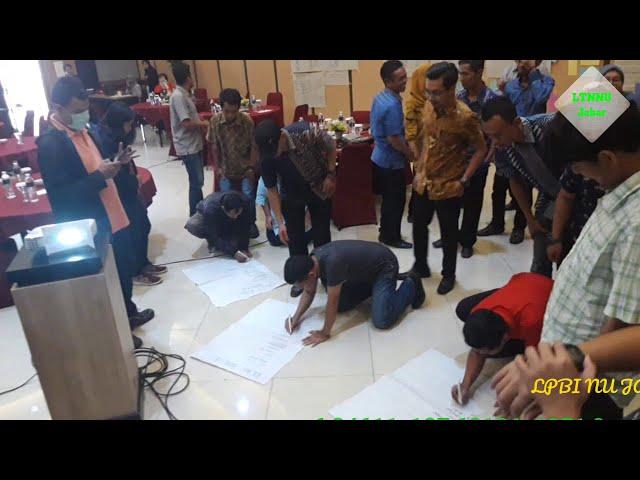 LPBI NU Jabar & Save The Children Kerjasama dalam TOT Pengelolaah Resiko Bencana Berbasis Masyarakat