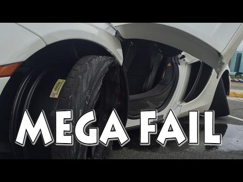 McLaren Crash at $99 Ride and Drive