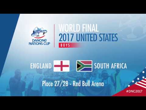 ENGLAND VS SOUTH AFRICA - RANKING MATCH 27/28  - HIGHLIGHTS -   DANONE NATIONS CUP 2017