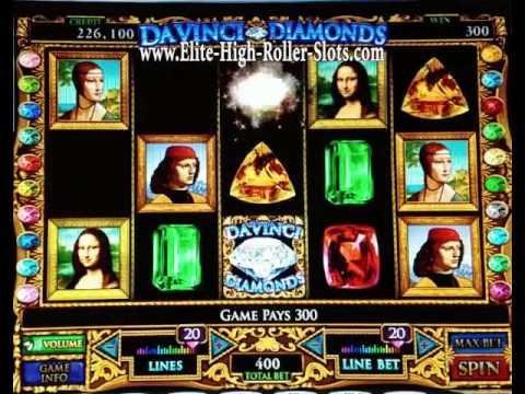 Youtube davinci diamonds slot machine baccarat sale