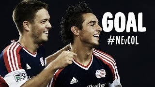 GOAL: Kelyn Rowe caps off a brilliant Revs buildup | New England Revolution vs. Colorado Rapids