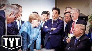 Trump Turns G7 Into A Meme