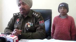 Misplace child handover to his parents by Rajpura Banur Police