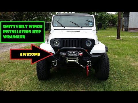 Jeep Winch Wiring - Zueokcrftumedicinalbeautyinfo \u2022