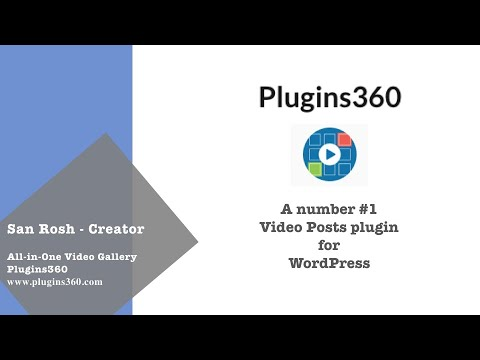 Kaltura all-in-one video plugin for wordpress