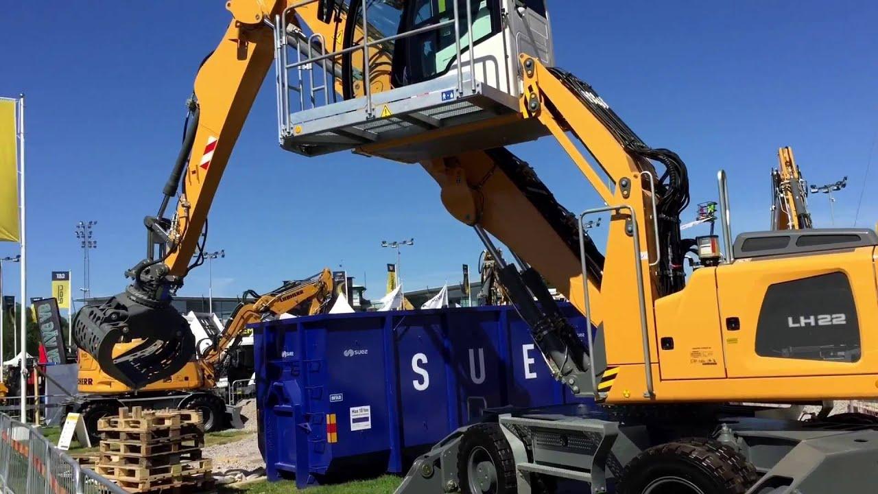 Liebherr LH 22 M Industry ol demo