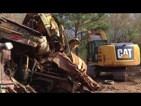 see how classic cars make theyr way to the scrap yard