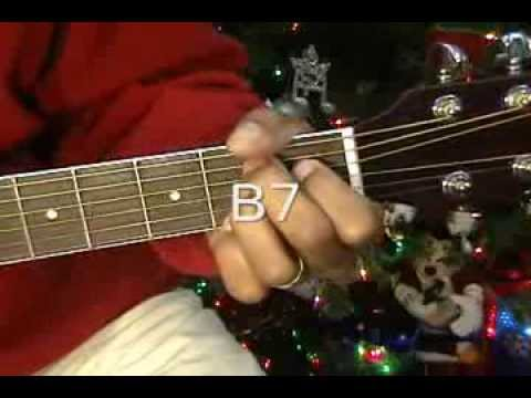 How To Play BLUE CHRISTMAS Elvis Presley Guitar Lesson EricBlackmonMusic