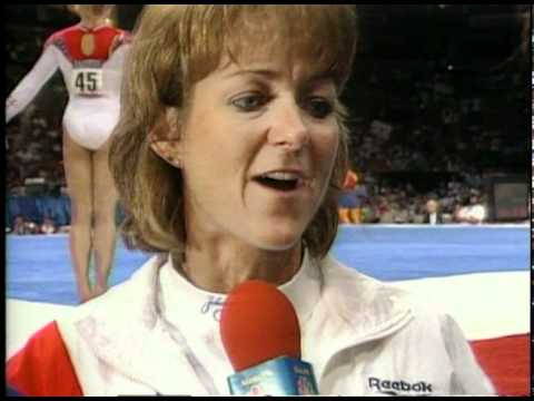 Mary Lee Tracy Interview - 1996 Olympic Trials - Women - Day 2
