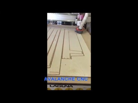 Plywood cutting By Avalanche CNC