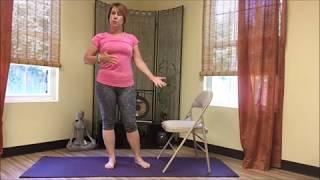 Pull Up A Chair Yoga for Balance & Flexibility