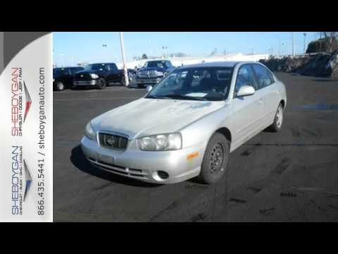 Used 2003 Hyundai Elantra Madison WI Milwaukee, WI #B4500B - SOLD