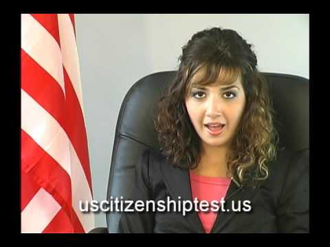 English Language Verbs for New U.S. Citizenship Test