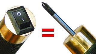 СУПЕР инструмент - МЕГА удобная отвертка с электромагнитом