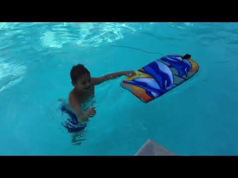 Wave board . Испытание новой доски для сёрфинга в бассейне . Гуляем в Вашингтоне . Washington DC .
