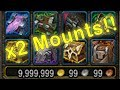 X2 Emissary Mounts Drop!! - WoW Paragon Chest Opening #14 | Emissary Chests Opening | Faction Mounts