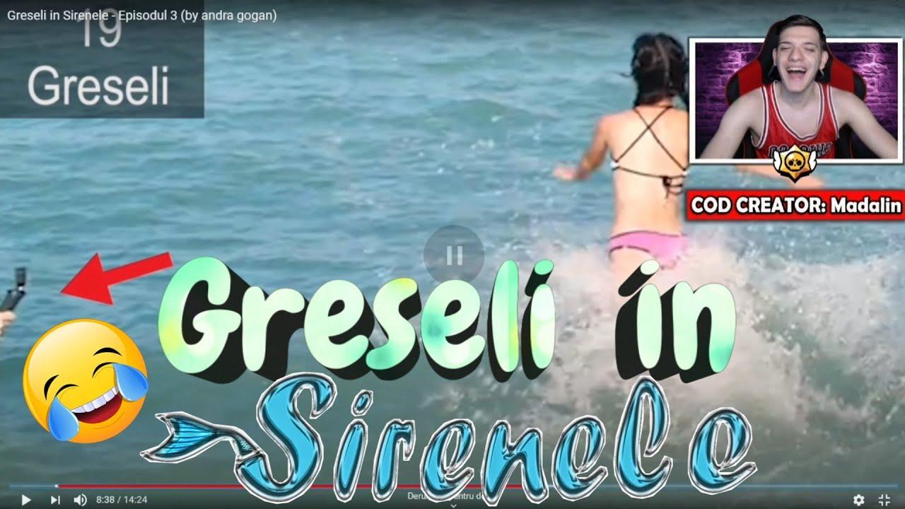 Madalin Reactioneaza la Greseli in Sirenele   Funny Moments cu Madalin