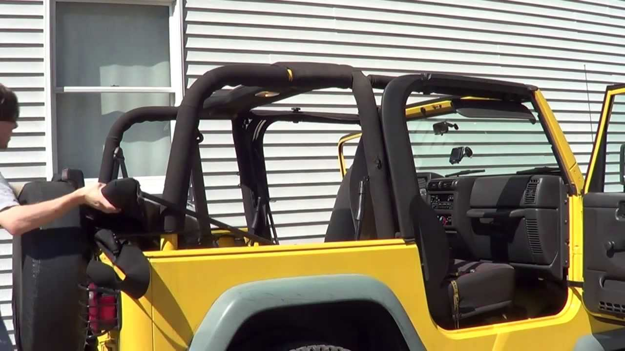 Jeep Wrangler Tj Update 3 Quot Removing The Soft Top Quot Youtube