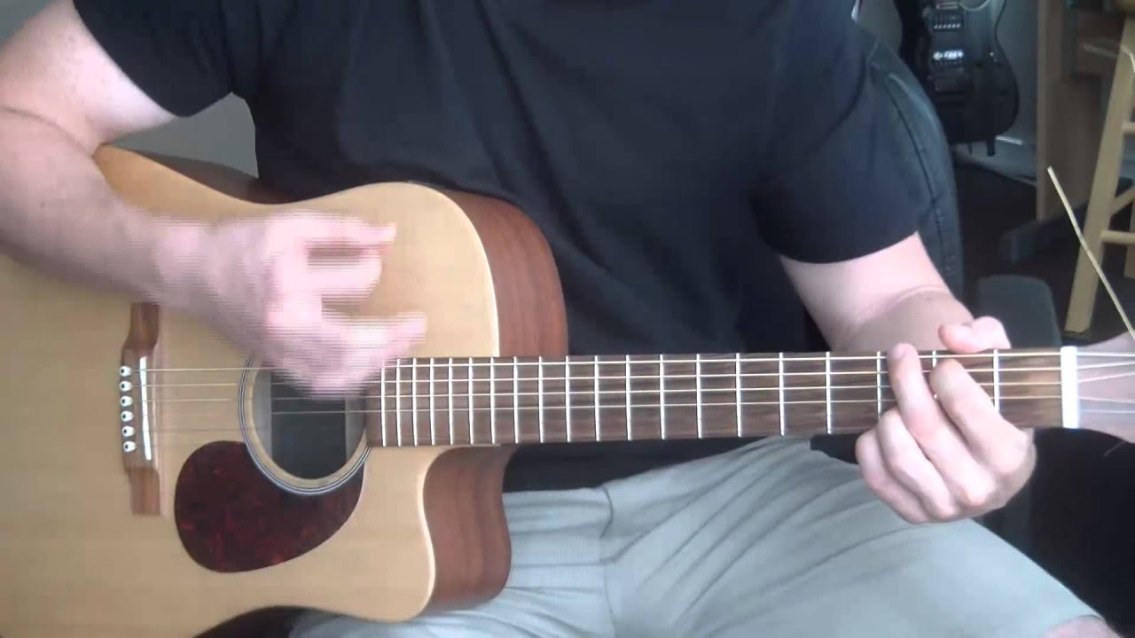 Collective Soul Run Guitar Lesson Chords Strumming Pattern