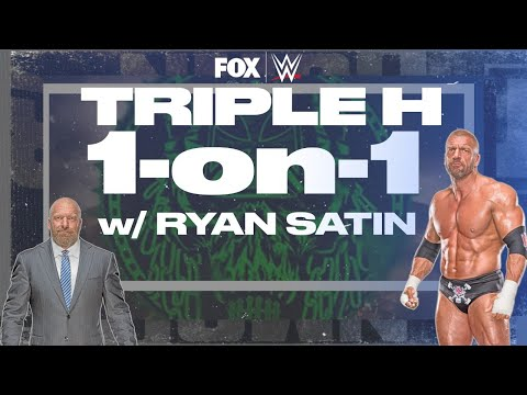 Triple H on Pat Patterson's legacy, State of NXT title | RYAN SATIN 1-ON-1 | WWE on FOX