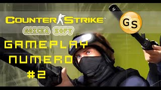 Gameplay Counter Strike 1.8 Goiceasoft/ Mapa de Francotiradores