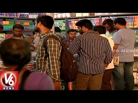All Set For Launch Of Book Fair In LB Stadium | Hyderabad Book Fair 2016 | V6 News