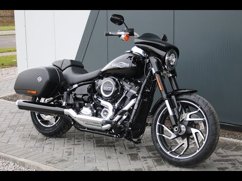 2018 harley davidson softail sport glide vivid black. Black Bedroom Furniture Sets. Home Design Ideas