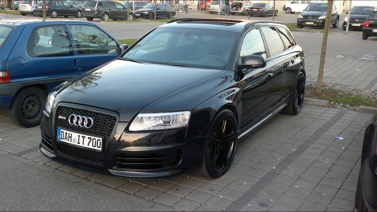 audi rs6 4f youtube