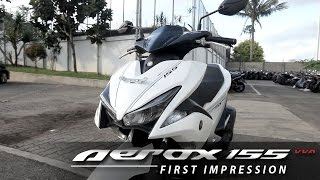 Yamaha AEROX 155 VVA S Version First Impression - Indonesia (English Subtitled) | OtoRider
