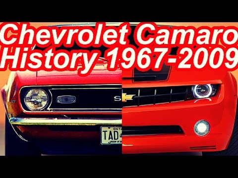 HISTÓRIA Chevrolet Camaro 1967-2009 #CAMAROSIX - YouTube