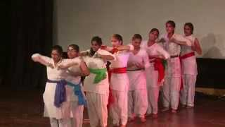 Patriotic Dance (Mere Desh Ki Dharti) by students of American Montessori Public School