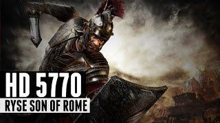 Ryse Son of Rome - i5 4460 + HD 5770 HIGH SETTINGS