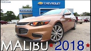 New 2018 Chevrolet Malibu 2LZ Premier - Walkaround Review at Marchant Chevy | Price, Specs & Options
