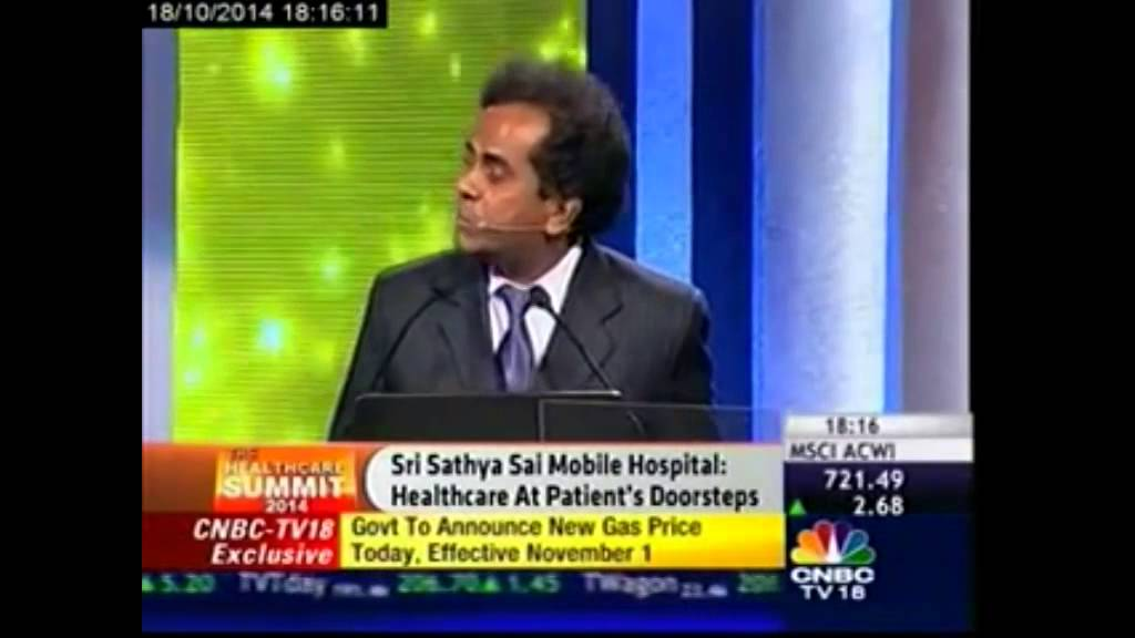 Dr K Narasimhan spoke about Rural HealthCare delivery system in India at  Health Care Summit