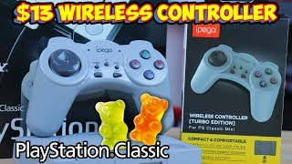 $13 Wireless PlayStation Classic Controller Feels Like A Wet Gummy Bear!