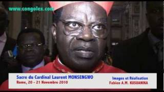 Sacre du Cardinal Laurent MONSENGWO